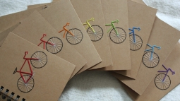 Bike Mini Notebooks